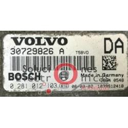 0281012103 UCE CENTRALITA MOTOR VOLVO XC90 XC70 C30 V70 2.4 TD