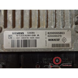 S122326108-A SID301 ECU CENTRALITAMOTOR RENAUL MEGANE-SCENIC 1.5 DCI