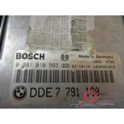 0281010565 ECU CENTRALITA MOTOR BMW 320D 150cv