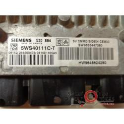 5WS40111C-T SID804 ECU CENTRALITA MOTOR CITROEN C2 1.4 HDI