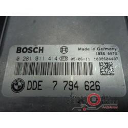 028011414 ECU CENTRALITA MOTOR BMW X5 3.0D