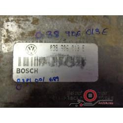0281001689 ECU CENTRALITA MOTOR VOLKSWAGEN-CADDY SEAT-CORDOBA 1.9 SDI
