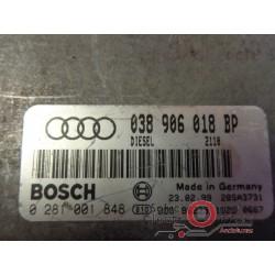 0281001848 ECU CENTRALITA MOTOR AUDI A-3 1.9 TDI 110CV