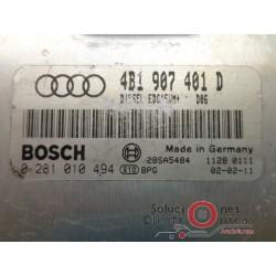 0281010494 ECU CENTRALITA MOTOR AUDI A6 2.5 TDI