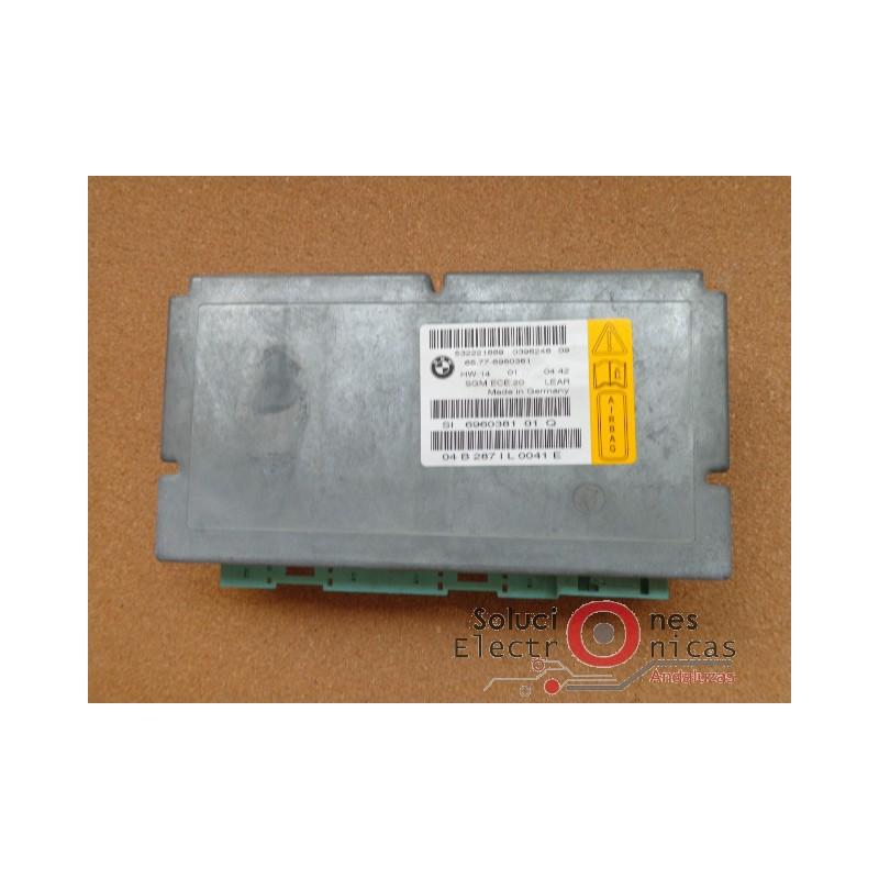 65 77 6960381 Airbag Sgm Gateway Bmw E 60 E 61