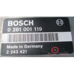 0281001119 ECU CENTRALITA MOTOR BMW E-34 525 2.5 TDS